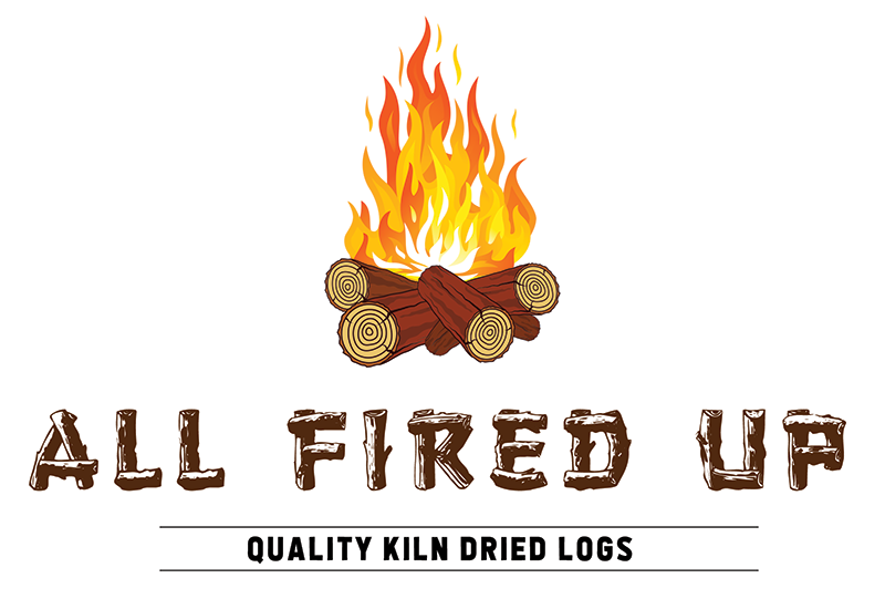 All Fired Up logo created by the Visualise Creative studio