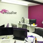The Visualise Creative studio image showing the layout.